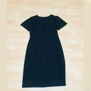 J.Crew black sheath dress size 12 cotton